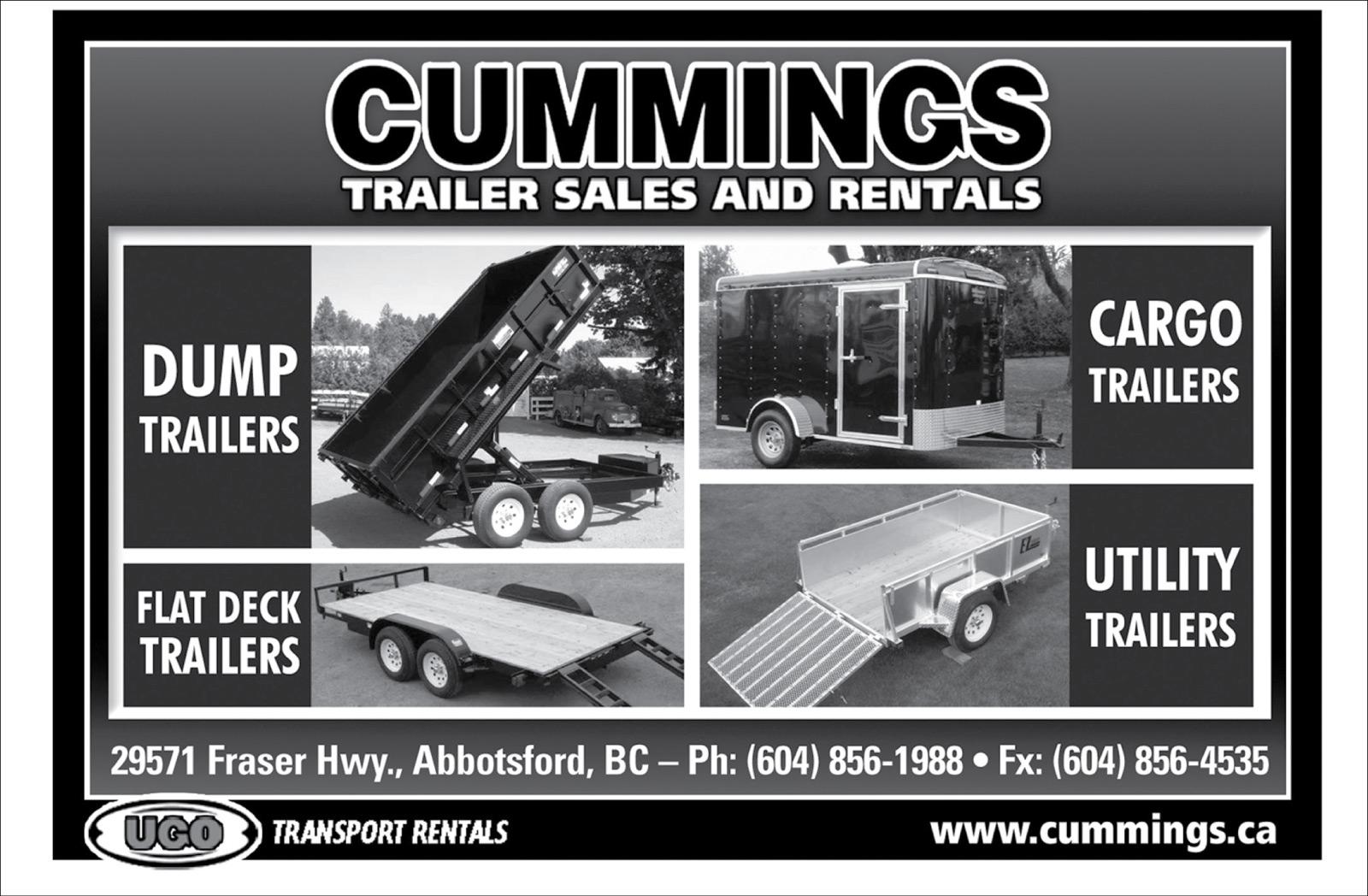 Cummings Trailer Sales and Rentals