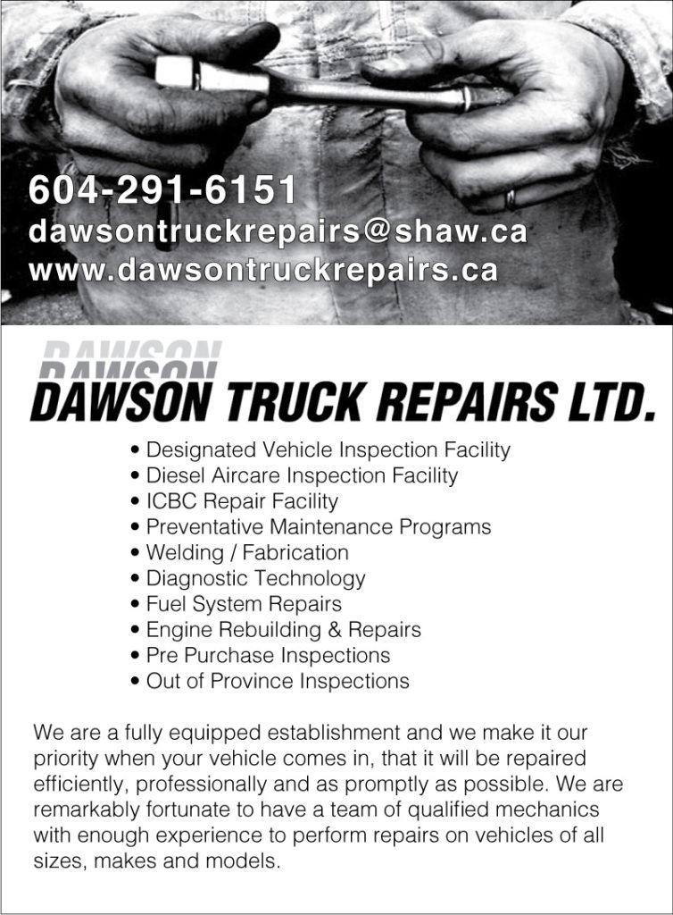 Dawson Truck Repairs Ltd.