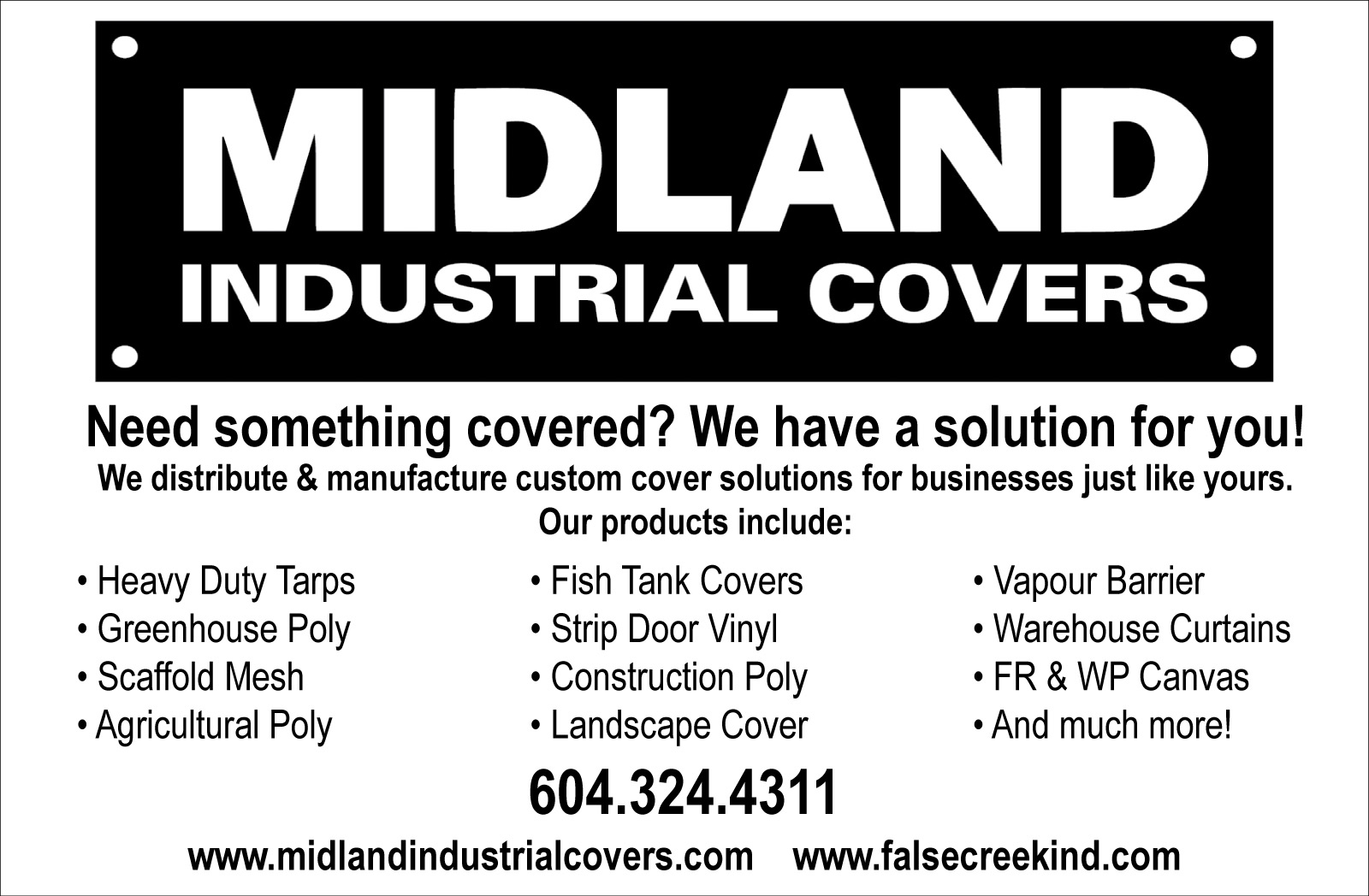 Midland Industrial Covers